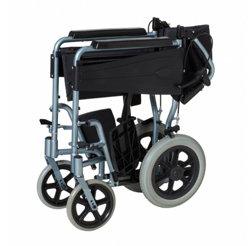Silla de aluminio muy ligera y tama o reducido ortopedia para ti - Tamano silla de ruedas ...