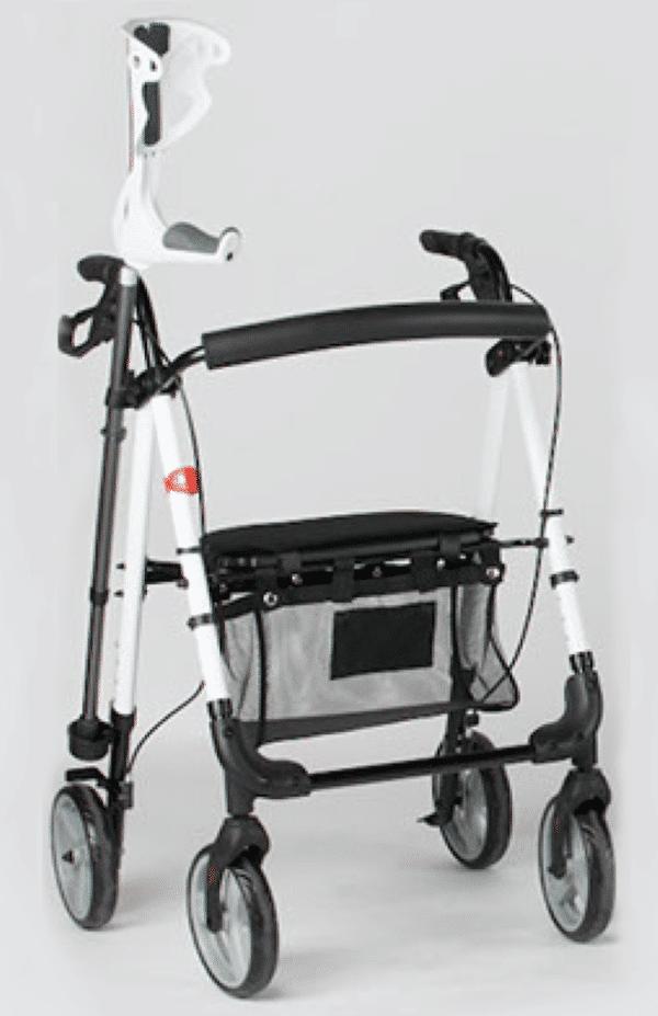 Andador Rollator plegable aluminio
