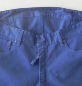 pantalon iman azul