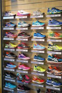 estante calzado running
