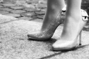 Calzado inapropiado
