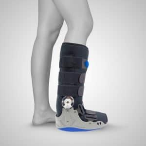Bota ortopédica articulada