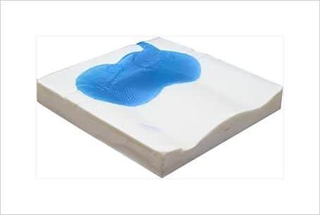 cojín gel y viscoelástico