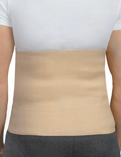 bada abdominal para hernias