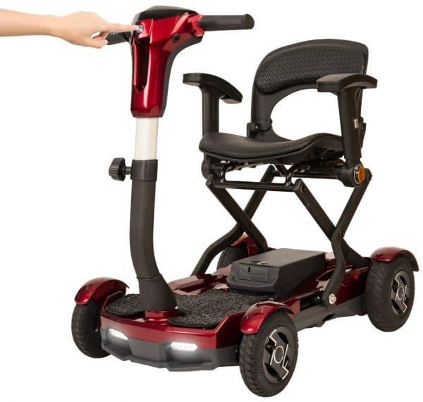 scooter apoyabrazos cómoda