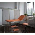 camilla para reconocimiento medico