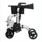 caminador y silla de ruedas plegable